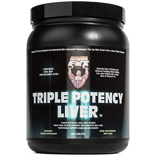 Healthy 'N Fit - Triple Potency Liver -500 tablets- Desiccated Liver