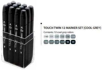 Touch Twin marker cg2 layout Marker-Cool Grey
