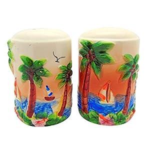 413Jsd62AQL._SS300_ Beach Salt and Pepper Shakers & Coastal Salt and Pepper Shakers