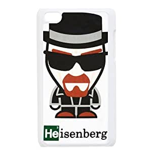 aqiloe diy Gdragonhighfive Cell Phone Case Breaking Bad Main Character Cartoon Style IPod Touch 4 Case Cover Unque Comes in Case