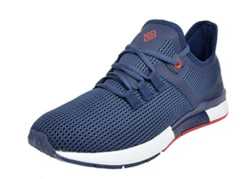 DREAM PAIRS Herren Pilot-M Athletic Laufschuhe Turnschuhe Navy Red