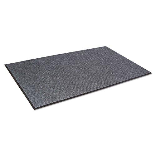 Crown Needle Rib Wipe and Scrape Mat, Polypropylene,Gray (NR0035GY) (Mat Scrape)