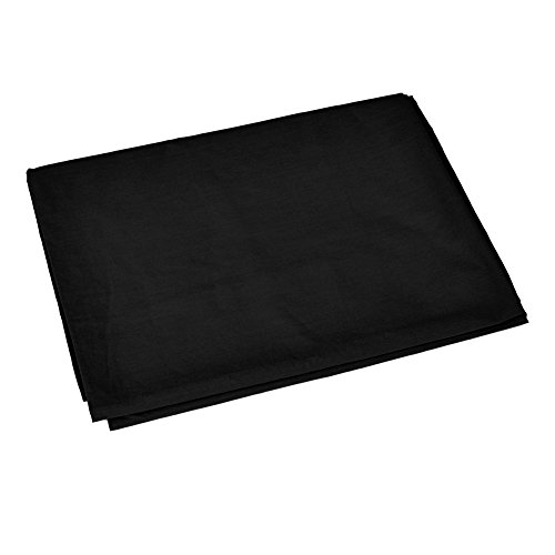 Neewer 10 x 12FT / 3 x 3.6M PRO Photo Studio 100% Pure Muslin Collapsible Backdrop Background for Photography,Video and Televison (Background ONLY) - BLACK