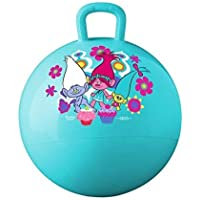 Anvey Space Hopper Jump N Bounce Retro Ball Handle Ride-on Toy Bouncy for Kids, 65cm (Multicolour)