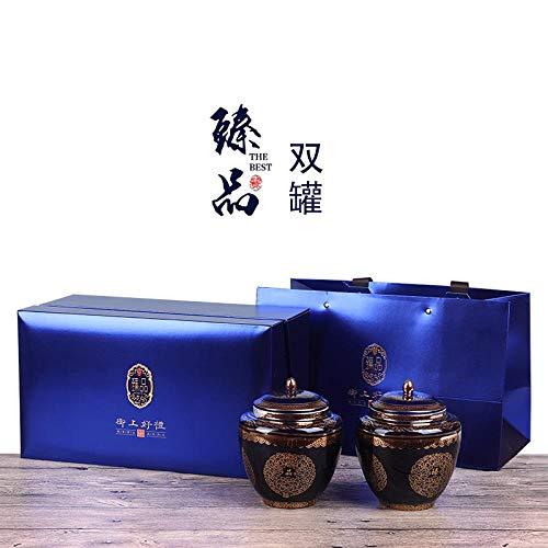 Wuyishan Tongmu guanjin Junmei black tea leaf gift box , 400g (blue)