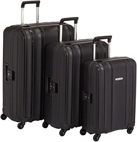 Mirano Set di valigie 220005 Nero 25 L