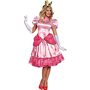 Disguise Princess Peach Deluxe Adult Costume