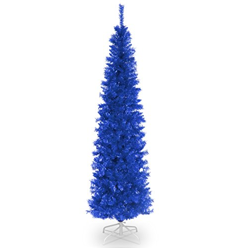 National Tree 6 Foot Tinsel Tree with Metal Stand (TT33-7...
