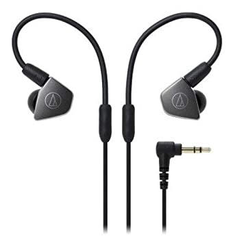 Audio-Technica ATH-LS70iS Live Sound Dynamic In-Ear Headphones with In-Line Mic Control