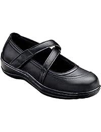 Celina Women's Comfort Orthotic Wide Diabetic Arthritis Mary Jane Shoes