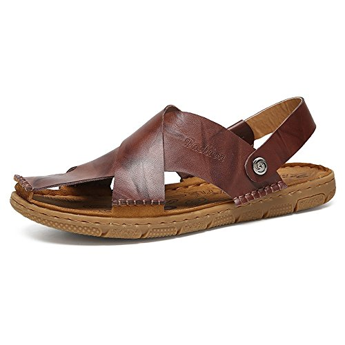 Slippers Leather Yao Leather Beach Yao 6awBqnOST