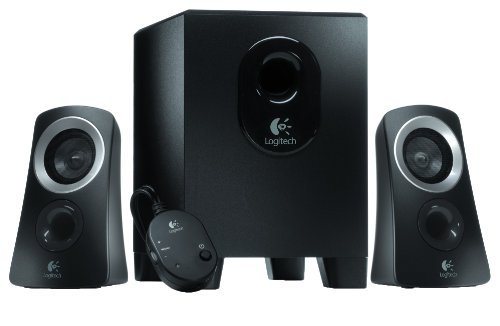 Logitech 980-000447  Speaker System - Black
