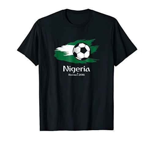 Nigeria World Football Fan Soccer Jersey Russia 2018