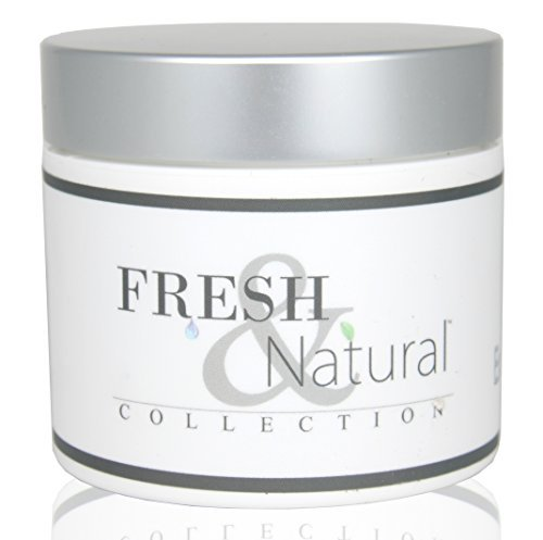 Fresh and Natural Sugar Scrub, Luxury Body Scrub (Fragrance Free, 4.0 Oz.) by Fresh & Natural Skin Care