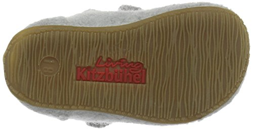 Living Kitzbühel Baby Mädchen Babyballerina Maus Krabbel-& Hausschuhe Grau (hellgrau 620)