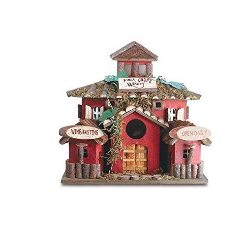 (Mandycng Backyard Garden Finch Valley Winery Bird House Little Home)