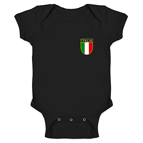 Italy Soccer Retro National Team Halloween Costume Black