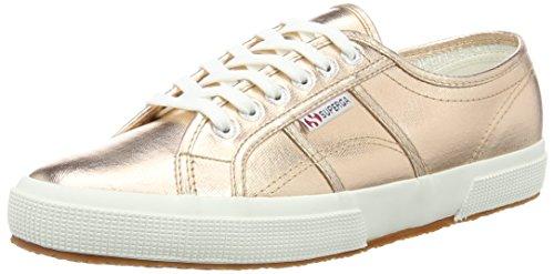 Oro Superga Sneaker COTMETU 2750 S002HG0 Gold donna Rose 64xpq7n