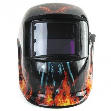 Chica revólver oscurecimiento auto solar de soldadura por arco de molienda tig mig máscara casco: Amazon.es: Electrónica