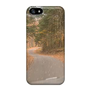Protection Cases For Ipod Touch 4 / Cases Covers For Iphone(white Diamond Lake Road)
