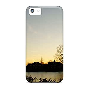 Hot RaS40071pRJH Village Lake Meteor Cases Covers Compatible With Iphone 5c