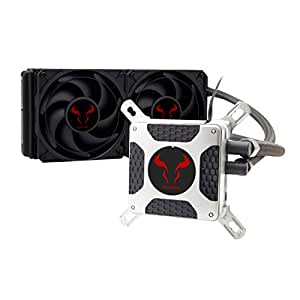 Liquid CPU Cooler, RIOTORO New Generation BiFrost AMD / Intel Platforms Water Cooling Fan with 240mm Radiator [TR-240]