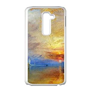 LG G2 Cell Phone Case White Fighting Temeraire Illust LV7037096
