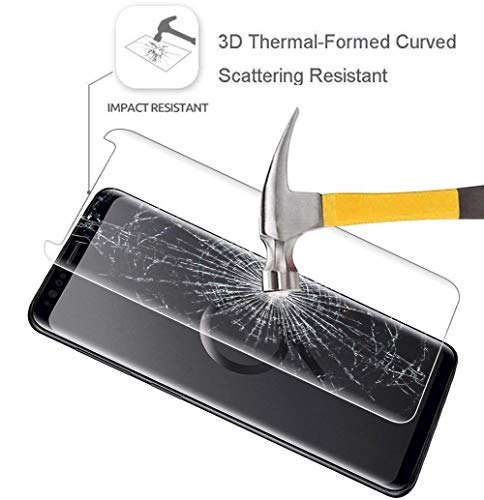 SHOPUS | 2 Pack of Galaxy S9 Plus Tempered Glass Screen