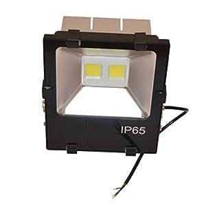 Zesol IP66 Waterproof 90W AC90-277V Warm White LED Flood light Outdoor Lights