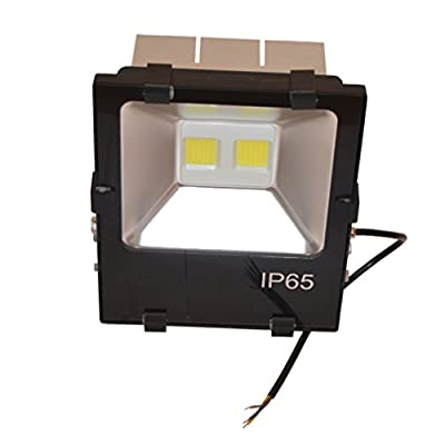 Zesol IP66 Waterproof 90W AC90-277V Warm White LED Flood light Outdoor Lights