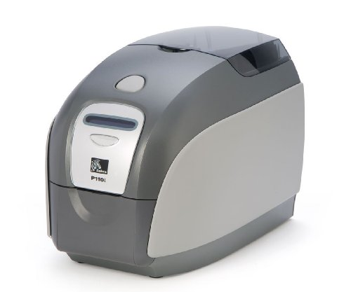 P110i Card Printer - Color - Dye Sublimation, Thermal Transfer by Zebra Technologies