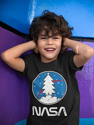 Navy Maglia Nasa Shirtgeil Bambini Natalizia Idea Space Maglietta Per Regalo qOxxzEwS5