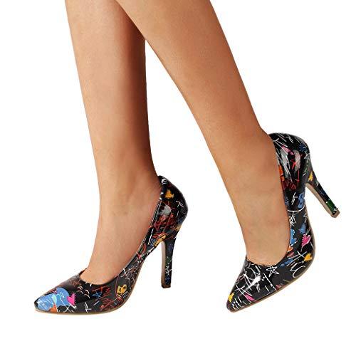 Femme sandales Sandal Soirée Robes Escarpins Sandales De Hauts Noir Mariée Yesmile Talons Pompes P5cYIf