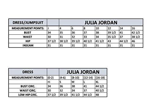 Julia Jordan Women's Halter Jumpsuit, Ivory, 2