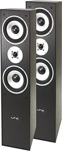 LTC Multicav 3-way stand speaker boxes (500Watt PMPO, bass reflex,...