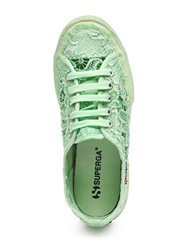 Superga 2750-Macramedyedw, Zapatillas de Deporte para Mujer Mint