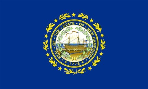 New Hampshire 3'x5'State Flag - Polyester ()