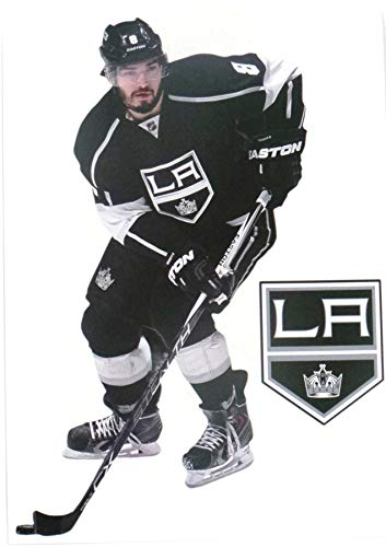 FATHEAD Drew Doughty Mini Graphic + Los Angeles Kings Logo Official NHL Vinyl Wall Graphics 7