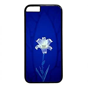 """Beautiful Flower Theme Case for iPhone 6 Plus (5.5"""") PC Material Black by mcsharks"""