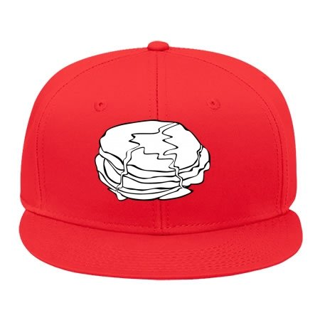 New Fashion Trend Male/female Snapback Adjustable Hip Hop Cap Fast Food Breakfast Ff Me Hat