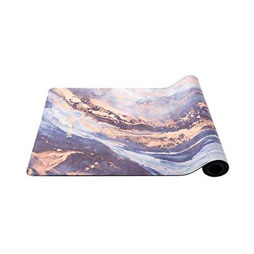 ''Siphoning Light'' Designer Yoga Mat by Sugarmat I Eco Luxury and Non-slip I Designed in Montreal I Ideal for Yoga, hot yoga, Pilates I Machine washable I Non-faded color I Include yoga strap by Sugarmat (Image #1)