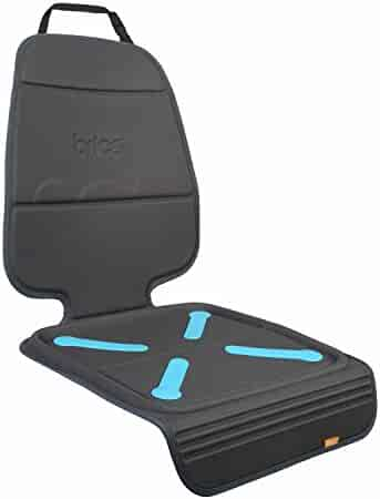 Munchkin Brica Elite Seat Guardian Car Seat Protector, Crash Test Approved, Dark Grey, 1 Pack