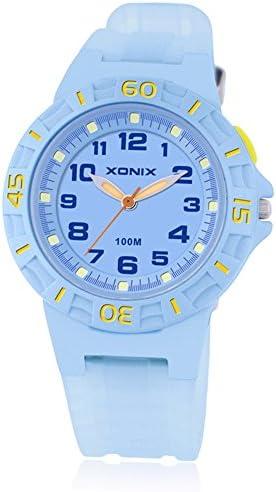 子供腕時計少年少女学生Luminous防水クォーツmovement-a