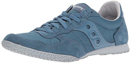 (Saucony Originals Men's Classic Bullet Sneaker, Blue, 8.5 Medium US)