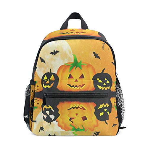 Halloween Pumpkin Parttern School Backpack For Girls Kids Kindergarten School Bags Child Bookbag
