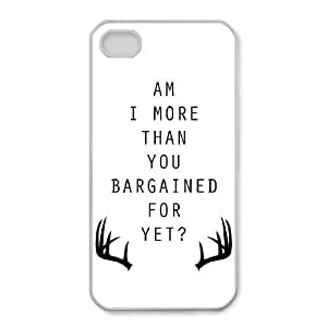 iphone4 4s Phone Cases White Fall out boy UMF488127