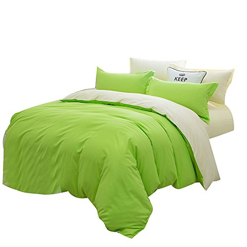 (Bed Sheets Sale,KIKOY 1500 Series Bedding Solid Colors Single Twin Full Size)