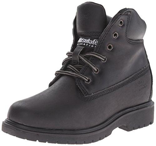 [Deer Stags Mack2 Work Boot (Little Kid/Big Kid), Black, 6.5 M US Big Kid] (Boots For Boys)