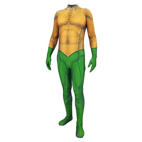 NDHSH Traje de Disfraces de Aquaman Cosplay Mono Traje de ...