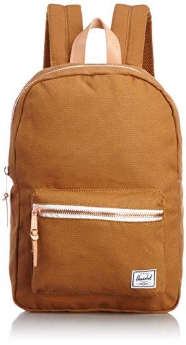 - Herschel Supply Co. Settlement Mid-Volume Select Backpack, Caramel, One Size